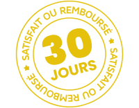 30 jours satisfait ou remboursé