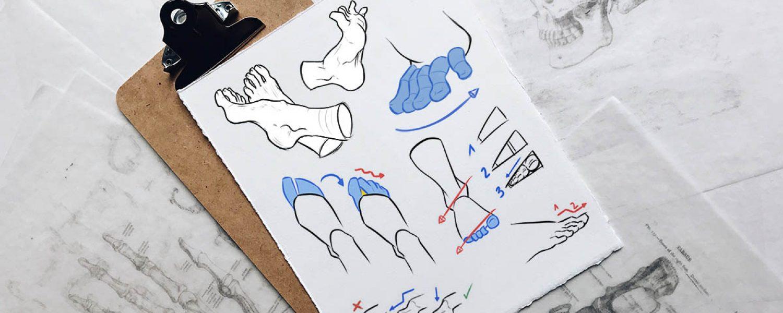 comment_dessiner_pieds